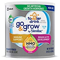 Abbott 雅培 Similac Go&Grow 嬰幼兒飲品,帶有2'-FL HMO,粉末狀,24盎司(680克)