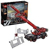 LEGO 乐高 Technic 机械组系列 复杂地形 起重机吊车 42082 拼装车模