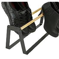 Mind Reader 鞋架,拖鞋架,鞋跟和运动鞋收纳架,黑色