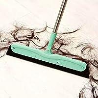 Rumiday 大号无尘刮刀扫把(颜色随机 2把装)除尘清洁扫帚不沾毛发不锈钢伸缩笤帚地板刮水器