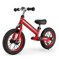 (买就送MINI护膝护肘)RASTAR 宝马MINI 儿童平衡车 宝宝滑行车 男女童车自行车无脚踏12寸 (辣椒红)