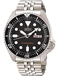 Seiko 精工 男士腕表 海外型号 黑色表盘 SKX007KD 男士