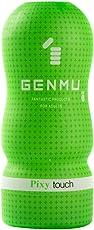 GENMU 根沐 男用自慰器 成人情趣性用品 男用飞机杯 TOUCH系列第三代 绿色萌女杯
