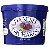 Danish Orchards Preserves, Boysenberry, 28 Ounce (Pack of 12)