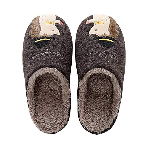 PROCHE 女式/男式夏季 拖鞋 中空 室内凉鞋 防滑 水漏 淋浴鞋 透气无味 C-coffee Women 9.5-10.5/Men 8.5-9.5