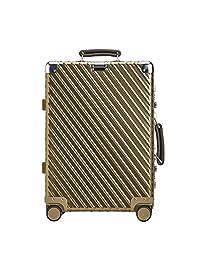 ELLE 中性 全铝品质硬箱出国通用防摔耐压坚固行李箱旅行箱拉杆箱 ELDL5511 (亚马逊自营商品, 由供应商配送)