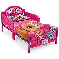 Disney 汽车总动员 3D 脚踏板 幼儿床 粉红色