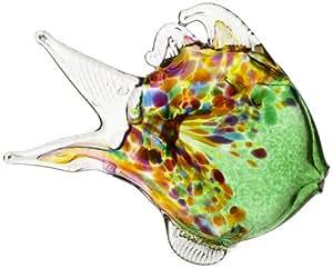 Kitras 节日鱼艺术玻璃 OR-MFIS-09-GR