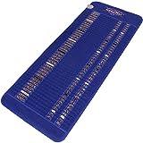 GemsMat - 伊莎贝拉- 远红外紫水晶翡翠水晶石蓝色垫(149.86cm 长 x 60.96cm 宽) - 负离子处理 - FIR * -FDA 注册制造商 - 可调节计时器和温度 - 加热垫