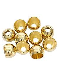 茉莉花 圈圈圈 25mm 10个装 金色 N825