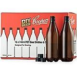 Coopers DIY 啤* 740ml 氧气屏障家庭酿*啤*瓶套装,数量 15