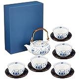 NARUMI 米兰茶具(带茶盘) 9682-23031 日本制造