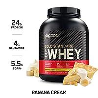 Optimum Nutrition 欧普特蒙 金牌乳清蛋白营养粉香蕉奶油味 5 磅(2.268千克)