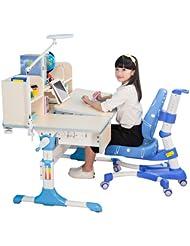 中国亚马逊:从3岁用到18岁,台湾心家宜 加大桌面 儿童青少年矫正坐姿可升降桌椅套装,三色可选2280元(镇店之宝,下单再减200,实付2080元)