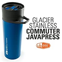GSI Glacier Stainless Commuter Javapress 真空保温过滤杯 6732