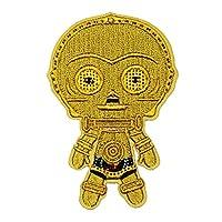 Star Wars 幻影恶魔 C-3PO 表情符号熨烫补丁