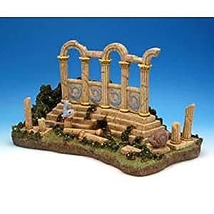 Penn Plax Lost City of Atlantis 皇家水族箱公仔 - XL - 40.64 x 22.86cm。 16L x 9W x 9H in.