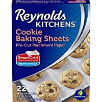 Reynolds Consumer Cookie Baking Sheets Non-Stick Parchment Paper, 22 Count