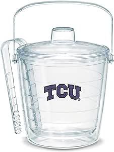 Tervis Texas Christian University Emblem Individually Boxed Ice Bucket, 87 oz, Clear