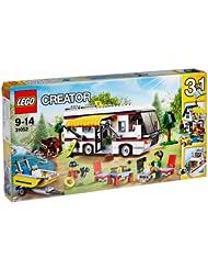 中国亚马逊:三种拼法,可玩性高,LEGO 乐高 Creator创意百变系列 31052 度假露营车 409元(镇店之宝,用券再减50,实付359元,历史新低)