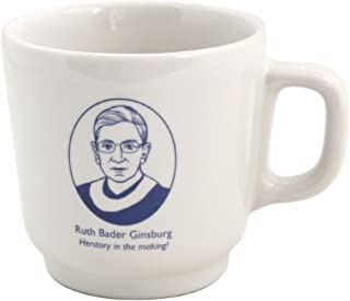 """Ruth Bader Ginsburg """"Herstory in the making!"""" 283.5 毫升陶瓷咖啡杯"""