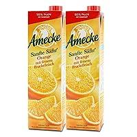 Amecke 爱美可 原装鲜榨果肉橙汁 1L*2(德国进口)
