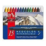 米朗什达经典·Neocolor  II 水溶性蜡笔,15种颜料