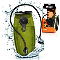 Source Tactical WXP 2-Liter Hydration Reservoir System with Storm Valve, Black