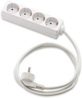 Famatel M258255 接线板,带 4 个插座,无开关