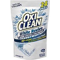 oxiclean 白色 REVIVE 斑点去除剂 POWER paks 598.2gram 21.1