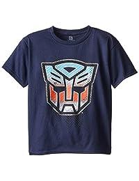 Transformers Big Boys' Autobots Logo Boys 8-20 Graphic Tee