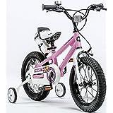 Royalbaby 自由式男孩女孩儿童儿童儿童自行车 6 种颜色,12 英寸、14 英寸、16 英寸、18 英寸带稳定器、水瓶和支架。