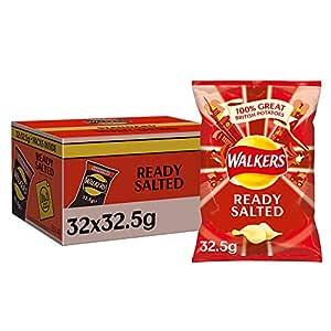 Walkers Crisps, 32.5 g,32件装 100 g