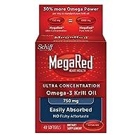 Megared 750mg 超濃縮Omega-3 磷蝦油,不返魚腥味,80粒軟膠囊