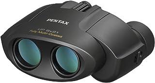 PENTAX 宾得 双筒望远镜 UP 8x21 黑色 小型轻量 配备完整的多层镀膜 高档棱镜Bak4(8x)节日现场 音乐会 体育观看  61801