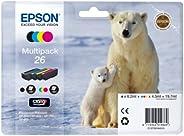 Epson t2616墨盒北极熊 Multipack (Schwarz,Cyan, Magenta,Gelb)