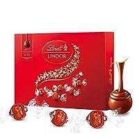 Lindt瑞士莲软心牛奶巧克力礼盒168g (瑞士进口)