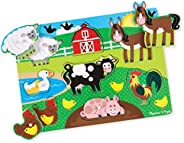 melissa & doug farm peg Puzzle by melissa & d