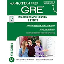 GRE Reading Comprehension & Essays (Manhattan Prep GRE Strategy Guides Book 7) (English Edition)