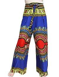 Raan Pah Muang 丝滑人造丝衣裤装轻便非洲吉基艺术粘胶纤维