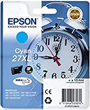 Epson 闹钟 27 号墨盒 XL High Capacity Cyan