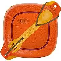 Yuko(UCO) 户外 露营 餐具套装 4件套 * 复古日落 【日本正品】 27004