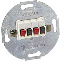 Merten 467019 扩音器连接插头,2 个音域白色
