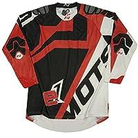 Mots mt2201 X XLR Enduro E1 T 恤,紅色,XXL 碼