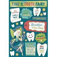 KAREN FOSTER 设计酸和无木质素剪贴簿贴纸,牙齿仙子时间