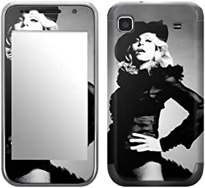 Zing Revolution MS-MD10275 Madonna - Vogue Cell Phone Cover Skin for Samsung Galaxy S 4G (SGH-T959V)