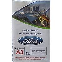 A3 MyFord Touch Performance * USB / SD 组合包,适用于 2011 2012 福特和林肯的 SD 导航卡,A1 更新更快(含 A3 SD 卡),USA/ANADA 地图
