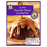 Morrisons Instant Chocolate Flavour Custard Mix, 76 g, Pack of 24