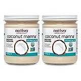 (2 个捆绑)  nutiva - org coconut manna -425 克