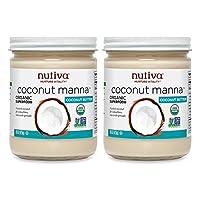 Nutiva 椰子甘露泥椰子黃油,15盎司嗎25克(2瓶)